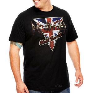 Def Leppard Word Tour 83 T-Shirt 2XLT B&T NWT